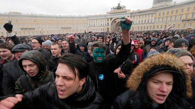 Rosyjskie protesty: bunt dzieci zdradzonych przez dorosłych