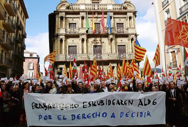 Katalończycy chcą niepodległości