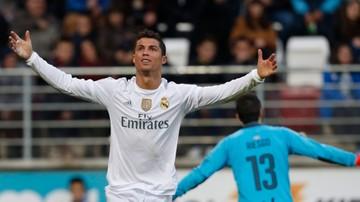 2015-11-29 Real wygrał z  Eibar. Ronaldo trzecim strzelcem w historii La Liga
