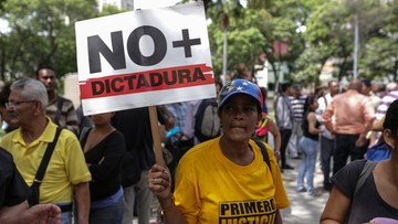 """01-04-2017 18:47 Nie będzie """"zamachu stanu"""" w Wenezueli. Sąd Najwyższy wycofuje się z przejęcia uprawnień parlamentu"""