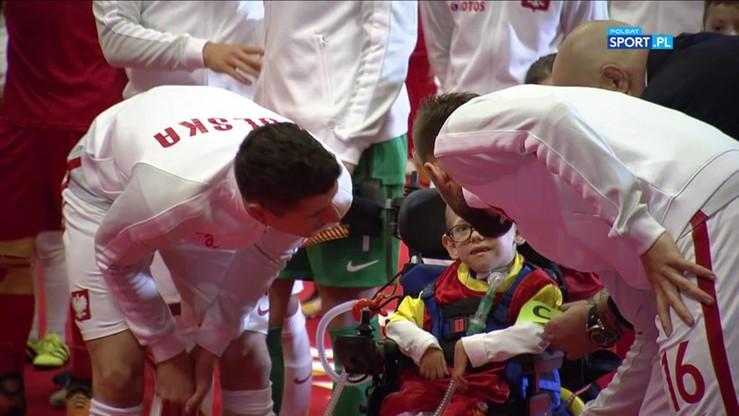 Lewandowski spełnił marzenie niepełnosprawnego Franka
