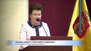 Hanna Gronkiewicz-Waltz zmienia front. Czy jej rodzina odda drogą kamienicę?