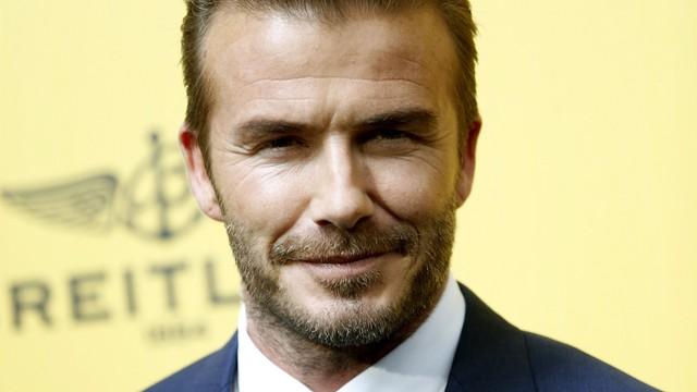 David Beckham od piłki nożnej woli... rugby