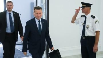 05-07-2017 09:27 PO: Mariusz Błaszczak stchórzył nie stawiając się we wtorek przed komisją