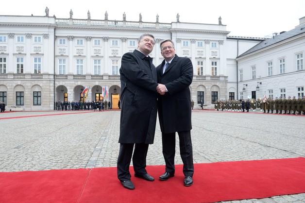 Prezydent Ukrainy z oficjalną wizytą w Polsce