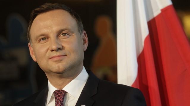 Spotkanie prezydenta Dudy i szefa Rady Europejskiej Tuska