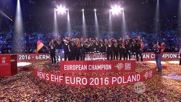 2016-01-31 Ceremonia wręczenia medali i zamknięcia EHF Euro 2016 (WIDEO)