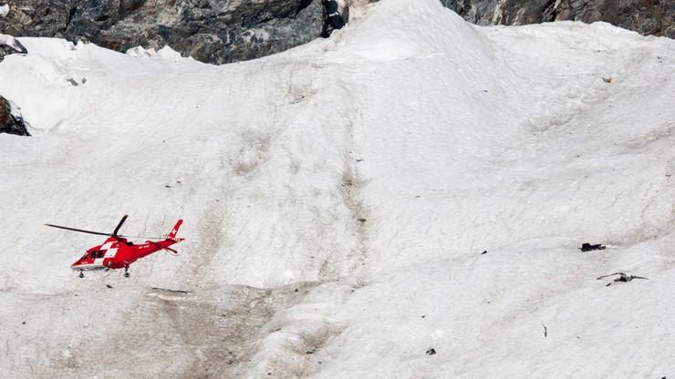 Szwajcaria: odnaleziono ciało pilota myśliwca, który rozbił się w Alpach