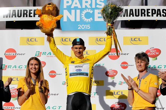 Paryż-Nicea: Kristoff wygrał 1. etap, Kwiatkowski wciąż liderem