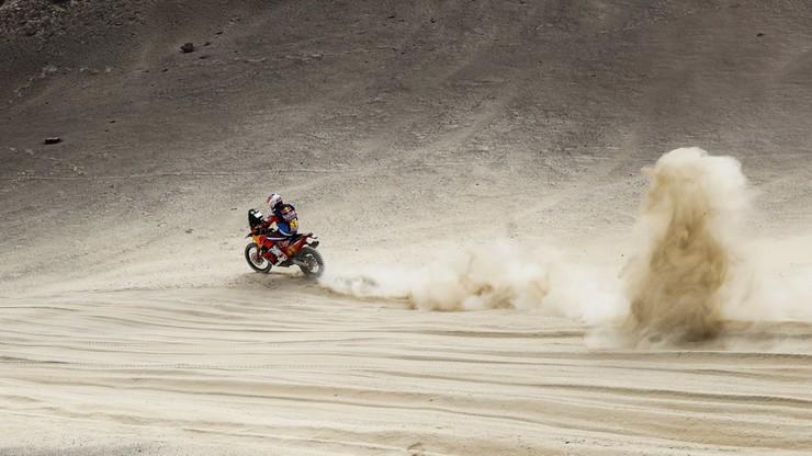 Rajd Dakar: Wypadek lidera motocyklistów