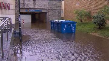 13-07-2016 09:02 Ulewy nad Polską. W Warszawie zalało ulice i trzy stacje metra