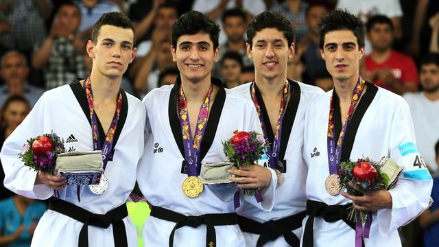 Igrzyska Europejskie - Karol Robak srebrnym medalistą w taekwondo