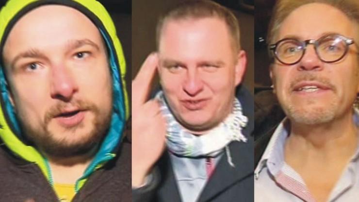 Demonstracja przed Sejmem. Policja poszukuje trzech mężczyzn