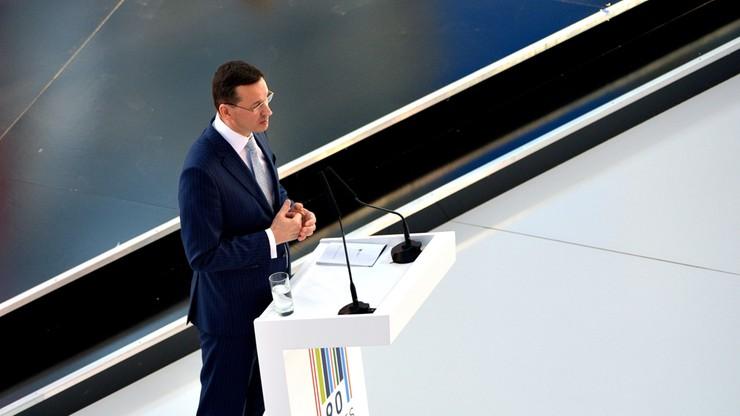 Morawiecki: kwota wolna od podatku dla najbiedniejszych - 6,6 tys. zł