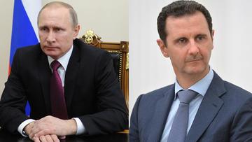 """24-02-2016 12:22 Putin rozmawiał z Asadem. Potwierdzili """"dalszą bezkompromisową walkę z IS"""""""
