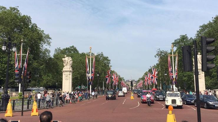 2016-06-10 Londyn szykuje się do urodzin królowej Elżbiety II