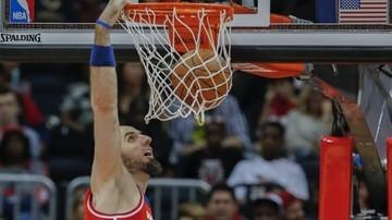 2015-11-11 Dobry mecz Gortata, ale zła passa Wizards trwa