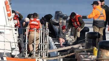 06-04-2016 12:37 Coraz mniej migrantów przedostaje się z Turcji do Grecji