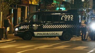 05-01-2016 09:55 Hiszpania: furgonetka po brzegi wypełniona kokainą