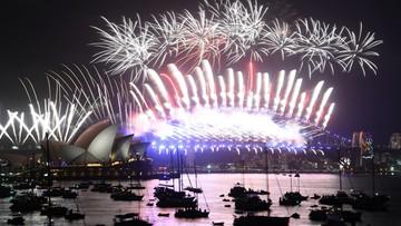 31-12-2017 19:16 Oni już przywitali rok 2018! Zobacz spektakularne pokazy fajerwerków