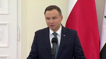 Prezydent Iraku z wizytą w Polsce.