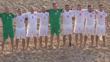 2016-11-05 Beach soccer: Polska - Egipt. Transmisja w Polsacie Sport Extra