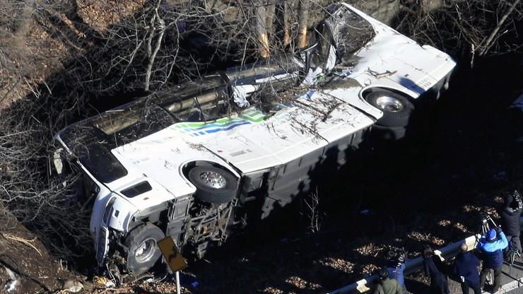 Wypadek autokaru w Japonii. 14 ofiar