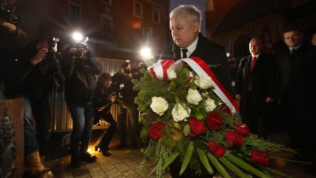 Politycy PiS w Krakowie świętują odzyskanie niepodległości