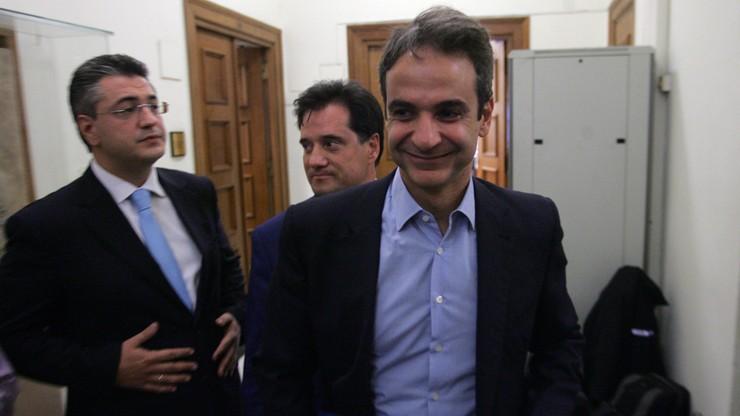 Grecja ma nowego przywódcę opozycyjnej Nowej Demokracji