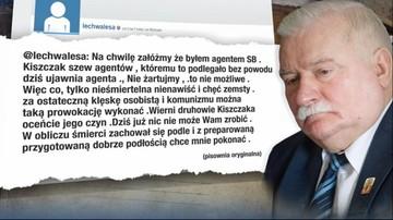 22-02-2016 07:18 Nowy wpis Wałęsy: Na chwilę załóżmy, że byłem agentem