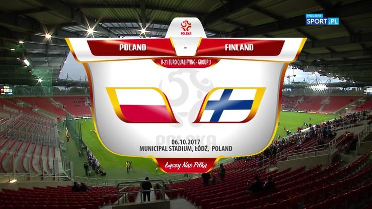 Polska - Finlandia 3:3. Skrót meczu