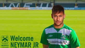 2017-08-03 Klub z 6. ligi angielskiej ogłosił zakontraktowanie Neymara