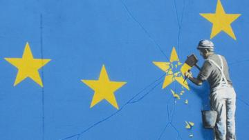 08-05-2017 09:48 Nowy mural Banksy'ego. Nawiązuje do Brexitu
