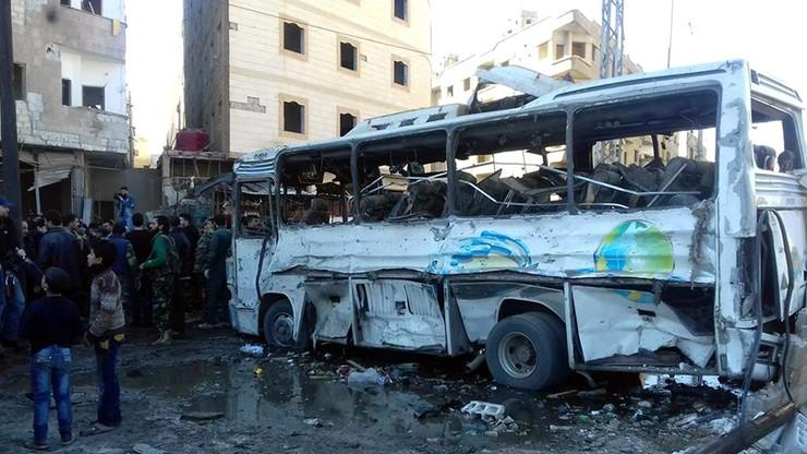 Ponad 70 ofiar zamachów w Damaszku