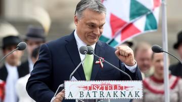 """15-03-2017 13:58 Orban: trzeba """"powstrzymać Brukselę"""""""
