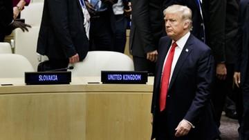 """18-09-2017 18:19 Donald Trump krytykuje ONZ za """"biurokrację i złe zarządzanie"""""""