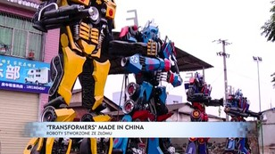 Transformers made in China - roboty zrobione ze złomu