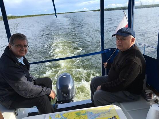 Prezes PiS na rybach. Joachim Brudziński pochwalił się zdjęciami