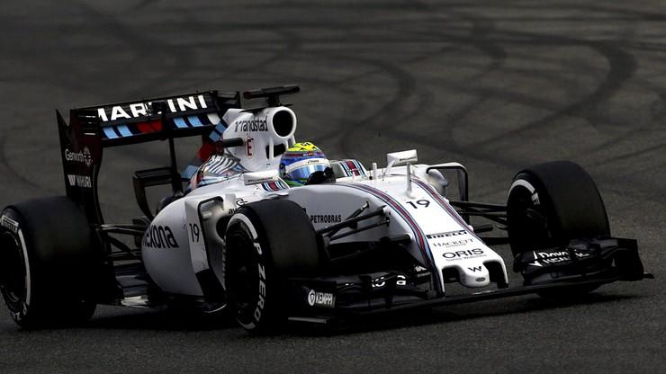 Massa w Williamsie najszybszy w Barcelonie