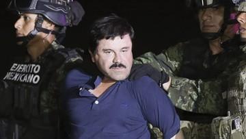 """09-05-2016 18:37 Baron narkotykowy """"El Chapo"""" trafi do USA. Meksyk zgodził się na ekstradycję"""