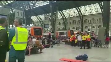 Wypadek kolejowy w Barcelonie. Co najmniej 48 osób rannych