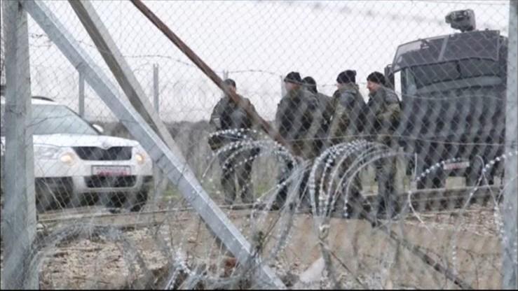 Macedońska policja użyła gazu łzawiącego wobec migrantów na granicy