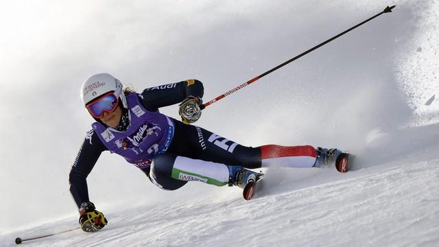 Alpejski PŚ - zwycięstwo Brignone w slalomie gigancie