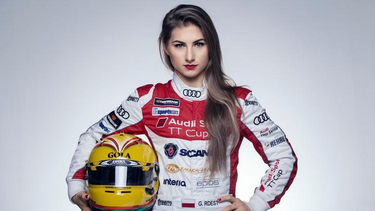 Gosia Rdest jedyną kobietą w Audi Sport TT Cup 2016