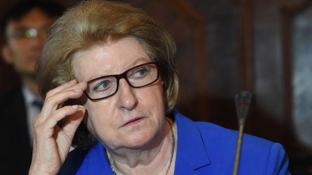 Hanna Suchocka honorową przewodniczącą Komisji Weneckiej