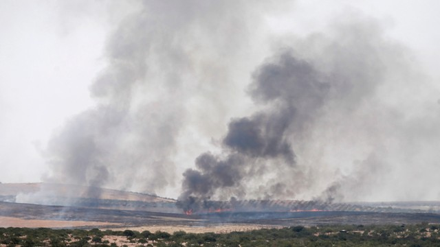 Syria: pozycja sił rządowych zbombardowane przez USA