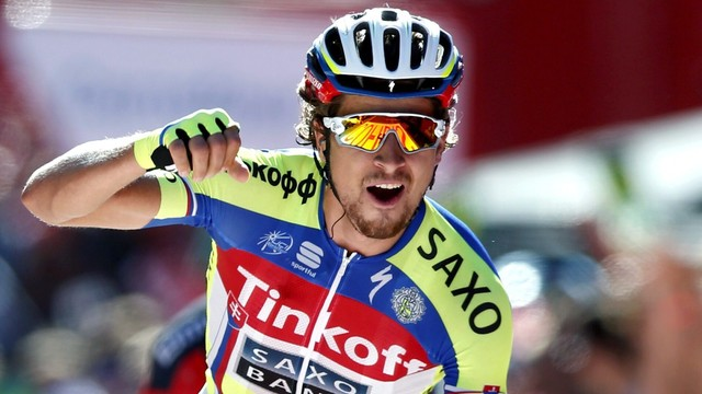 Vuelta a Espana: etap dla Sagana, Chaves nadal liderem