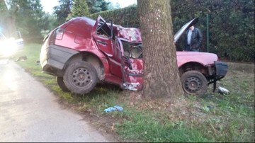 05-06-2016 17:38 Policja szuka mężczyzn, którzy po wypadku zostawili koleżankę zakleszczoną w aucie
