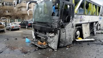 Więcej ofiar zamachu na pielgrzymów w Damaszku