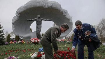 26-04-2016 19:09 Uczczono ofiary Czarnobyla na Cmentarzu Mitinskim w Moskwie